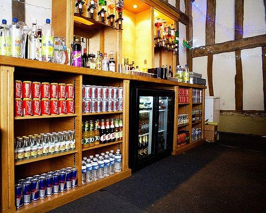 Back bar from Prestige Bars